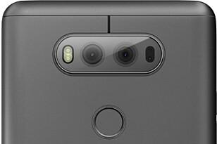 TO BAK: I motsetning til V10, som hadde to frontkameraer, har V20 fått to bak, på samme måte som i LG G5. Foto: LG