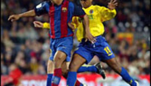 Ronaldinho i kamp mot Villareal fra Castellón.  Foto: FCBarcelona.com Foto: FC barcalona.es