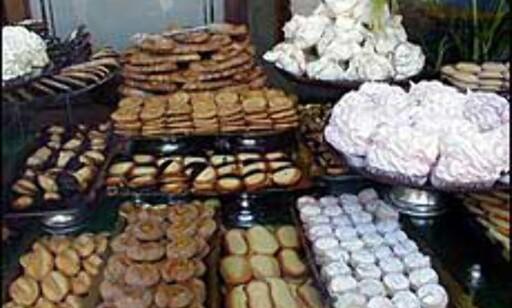 Alt hva et sukkersugent hjerte kan begjære og mer til.  Foto: Inga Holst