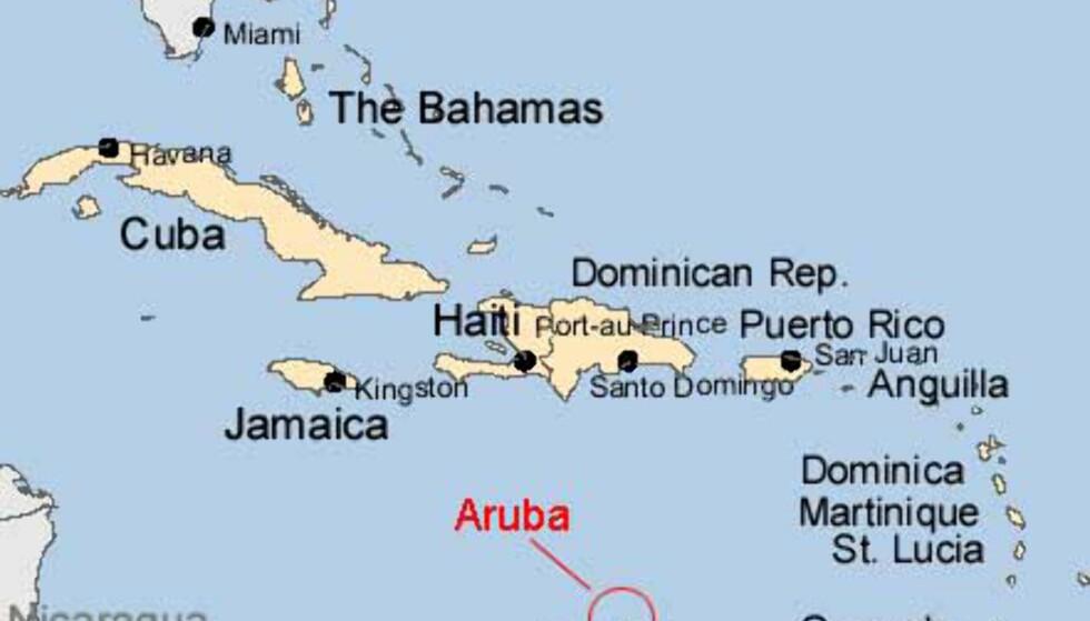 Kart: Aruba