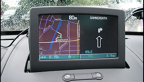 Flyttbar bilnavigasjon