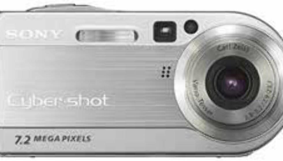 Sony lanserer 7,2 megapiksels kompaktkamera