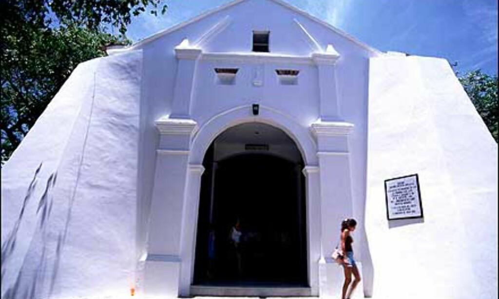 Kirke på Isla Margarita. Foto: Stian Mong