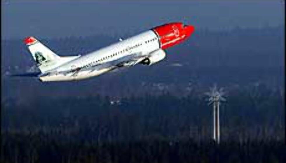 Norwegian flyr to nye ruter, til Salzburg og Torino, fra og med 15. januar 2005.