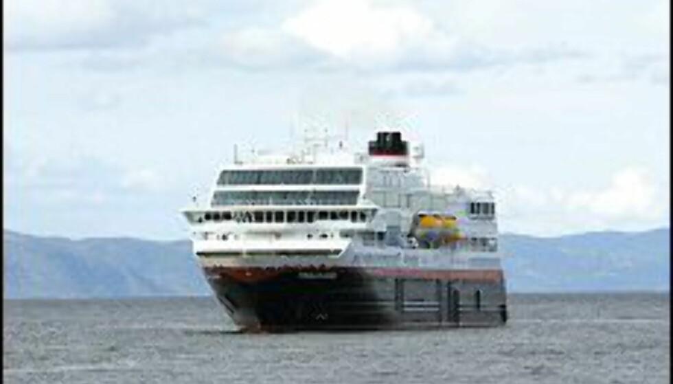 Trollfjord er en av Hurtigrutas tolv båter.