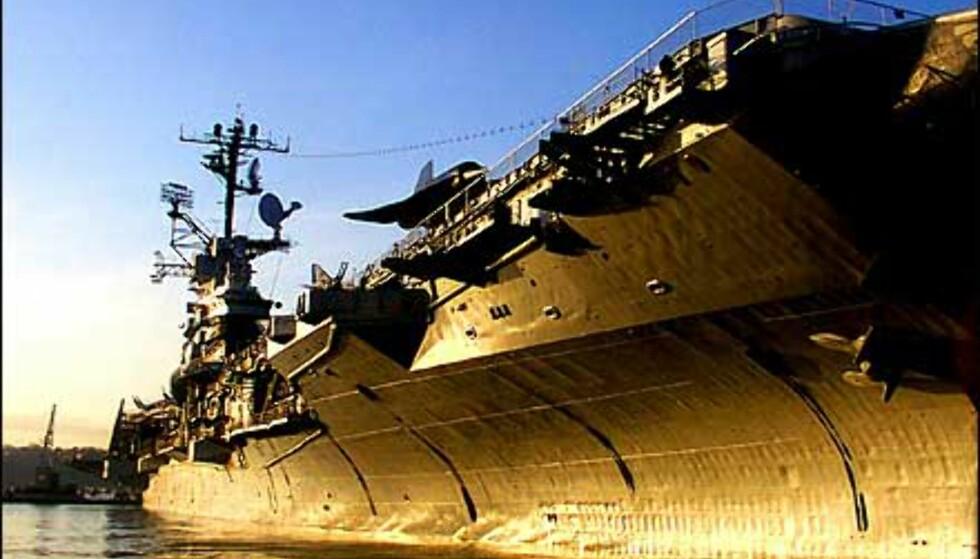 USS Intrepid er et hangarskip fra 1943. Det ble offisielt pensjonert i 1974 og åpnet som museumsskip i 1982. Foto: Intrepidmuseum.org Foto: Intrepidmuseum.org