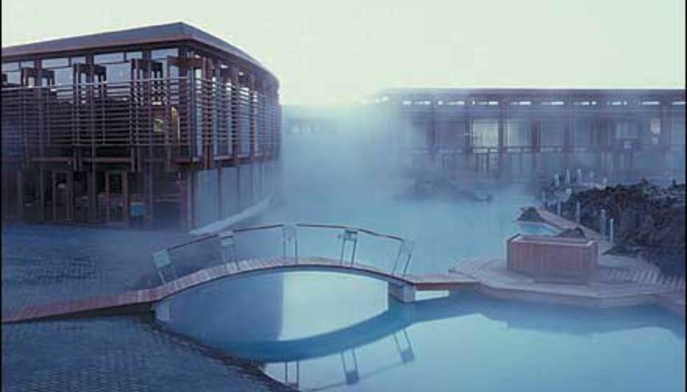 Spennende arkitektur omkranser nå Den blå lagune. Foto: Blue Lagoon
