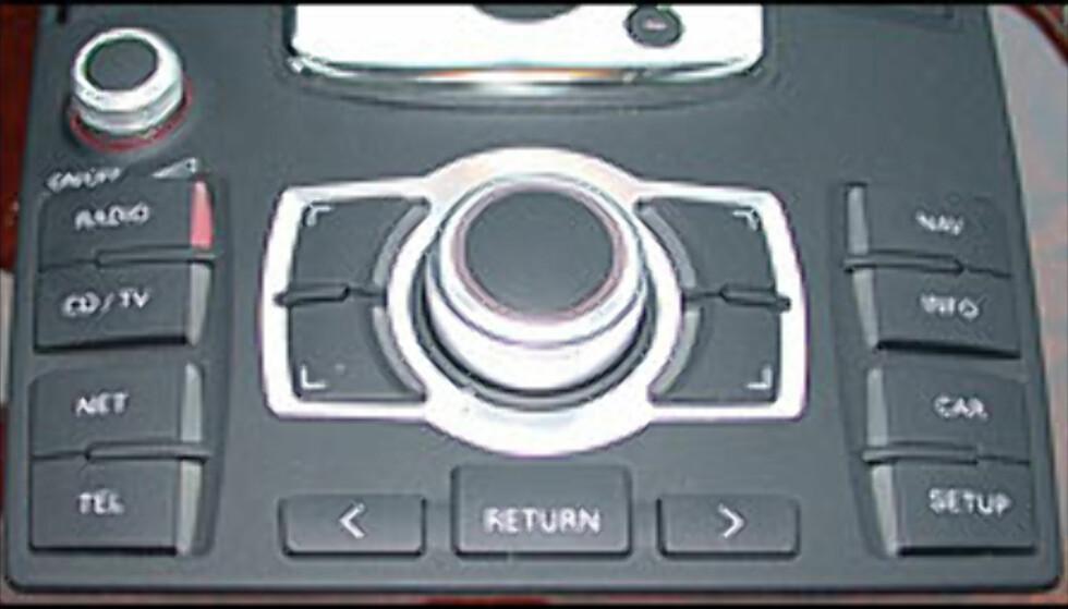 VELUTSTYRT: I nye Audi A8 finner du det meste av utstyret i vår avstemming.