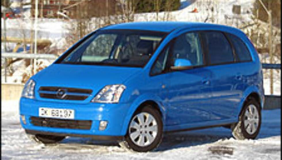 FOR PRIVATPERSONER 1: Opel Meriva 1.7 DT Enjoy  FØR: 214.100  NÅ: 192.400