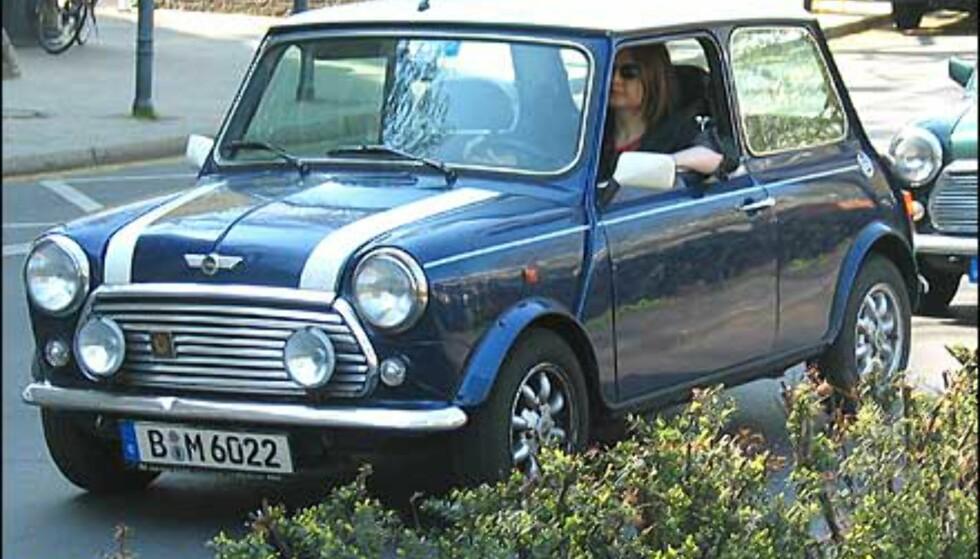 Samme dekor så vi på den opprinnelige Minien på en tur til Berlin nylig.
