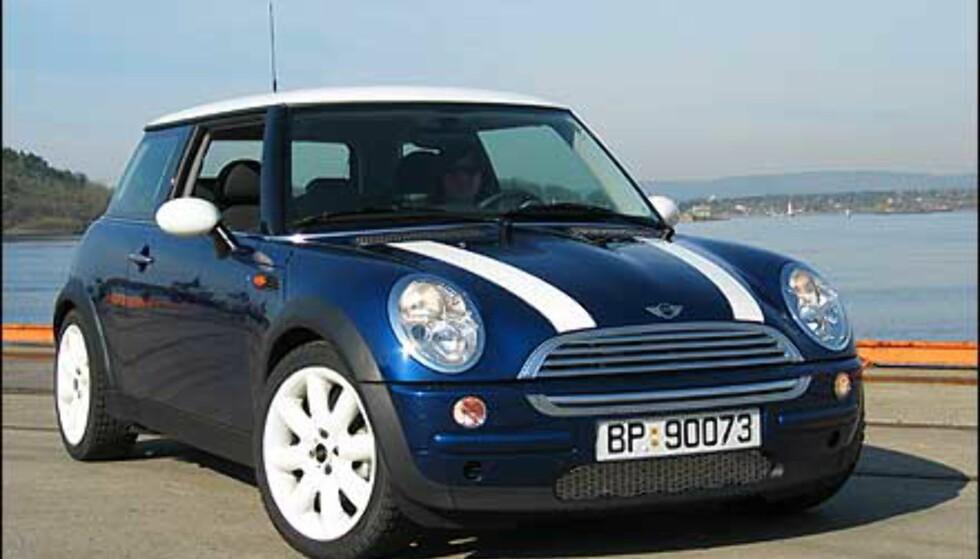 Sammenlignet med den originale Minien er det lett å se likheten.