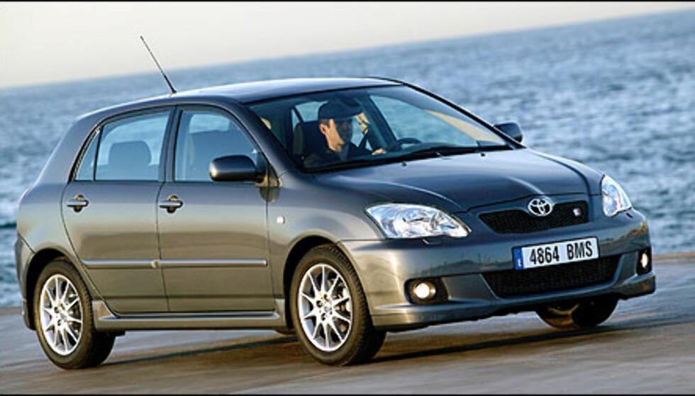 Bildet viser en Corolla T-Sport