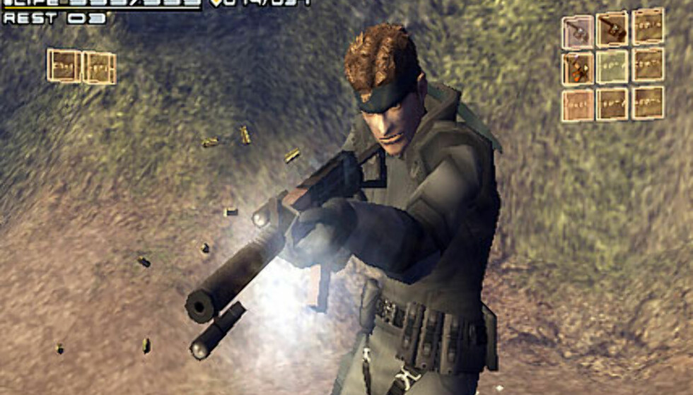 Metal Gear Acid (PSP)