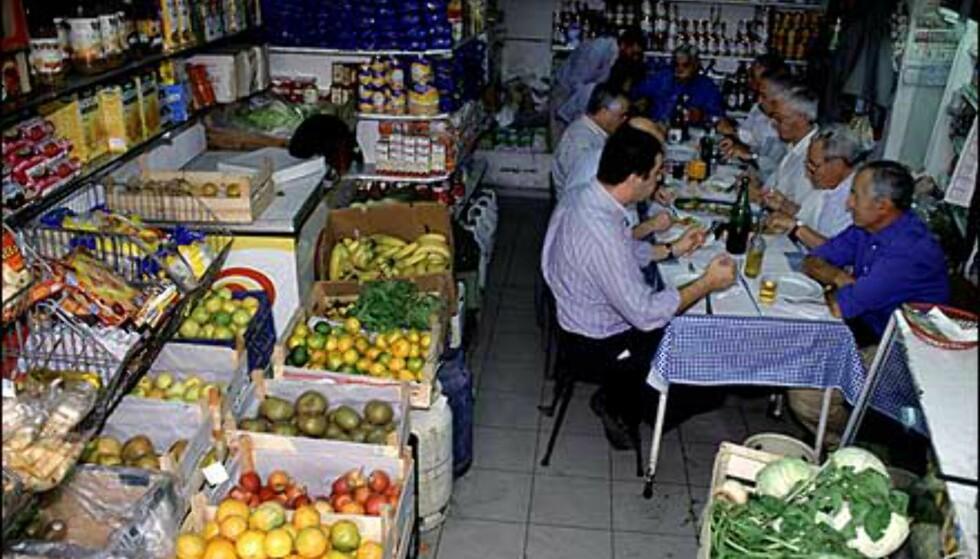 Kombinert butikk og restaurant. Foto: www.photito.com