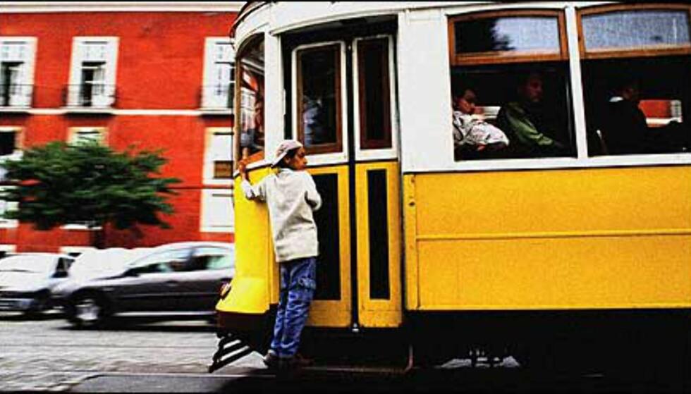 Trikken er det perfekte fremkomstmiddel i Lisboa. Foto: www.photito.com