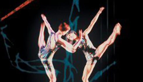 Holley Farmer og Lisa Boudreau fra det New York-baserte Merce Cunningham Dance Company. Foto: Stephanie Berger