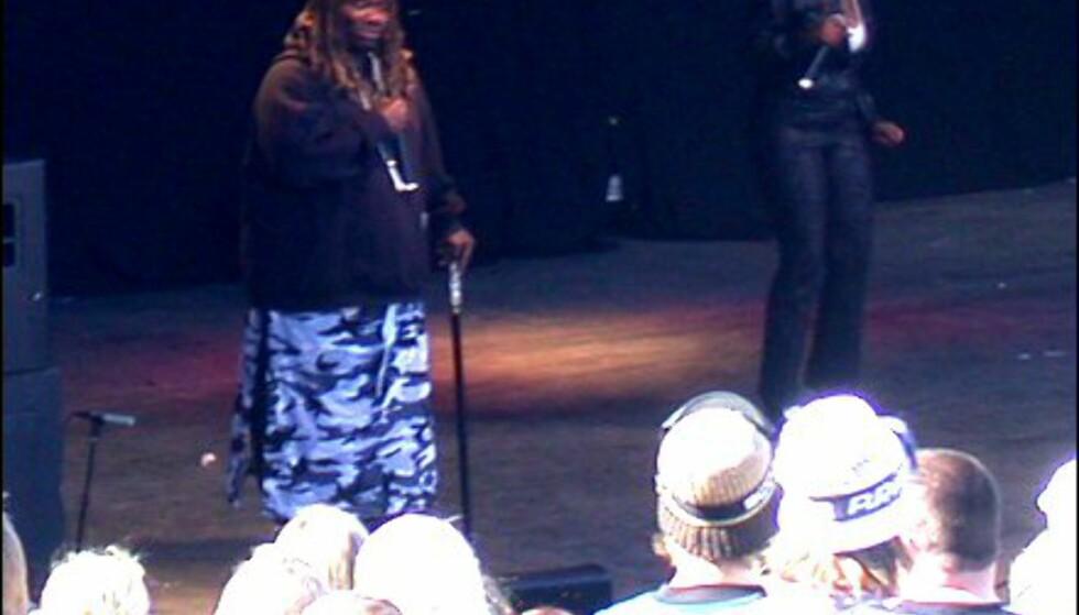 Men det var ikke før dagens hovedattraksjon Snap! feat. Turbo B kom på scenen ...