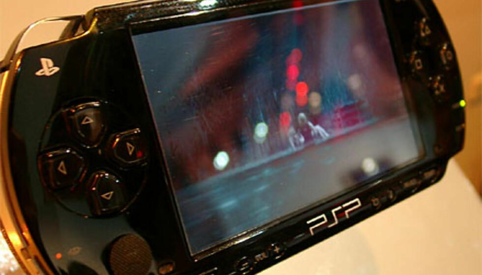 Vi prøver PSP