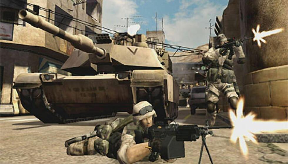 Battlefield 2 viser veien for online-spill