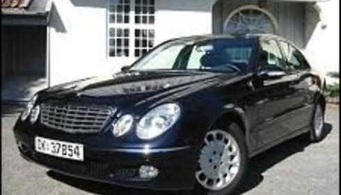 Mercedes E-klasse.