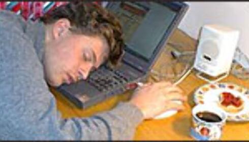 En av fire sover på jobben