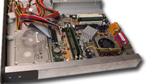 Vi bygger rack-PC