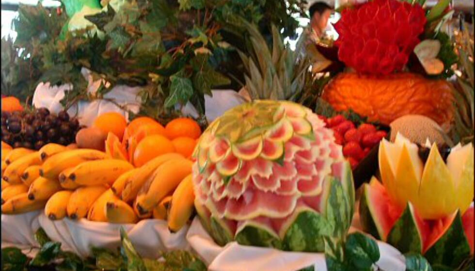 Hva jeg vil kalle et ordentlig fruktfat.