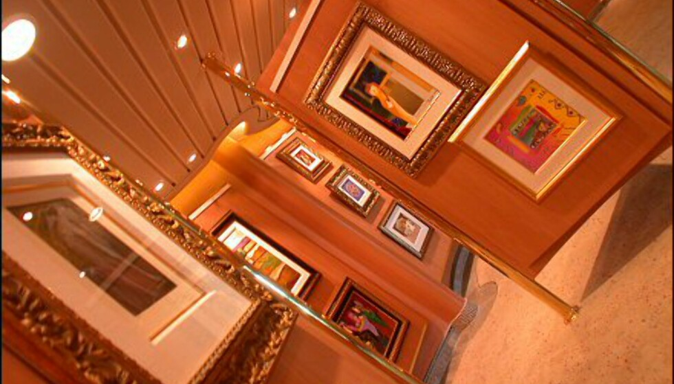 Jewel of the Seas huser kunst for 50 milllioner norske kroner. Det meste er spredt rundt omkring på båten, men du kan også besøke ett av båtens minigallerier.