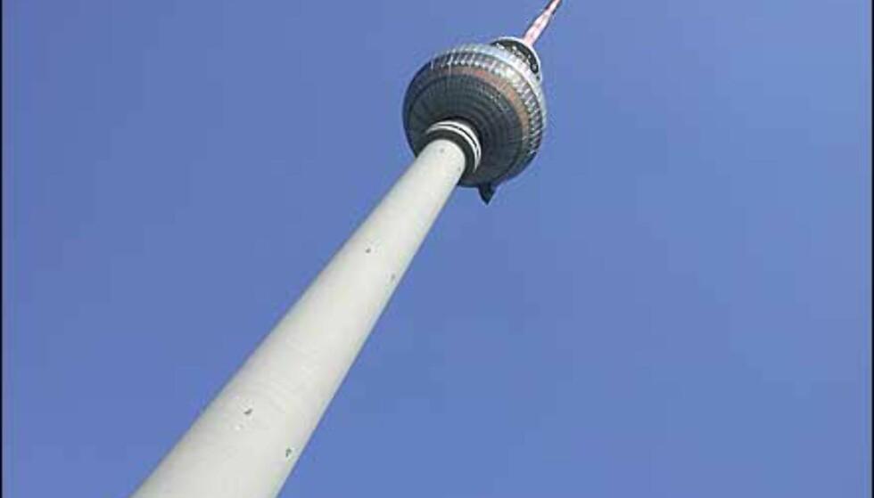 Fjernsynstårnet er det høyeste utsiktspunktet over Berlin.