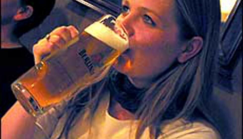 Gylden drikke toppet av skum. Hva er det? Test dine kunnskaper om øl ...