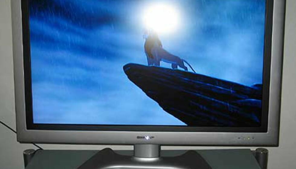 """Se store bilder av LCD-TV på 37"""""""
