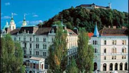 Ljubljana kalles et Praha i miniatyr. Foto: www.slovenia-tourism.si Foto: J. Skok/Slovenia-tourism.si