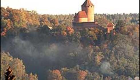 Et latvisk slott. Foto: Pilis.lv Foto: pilis.lv