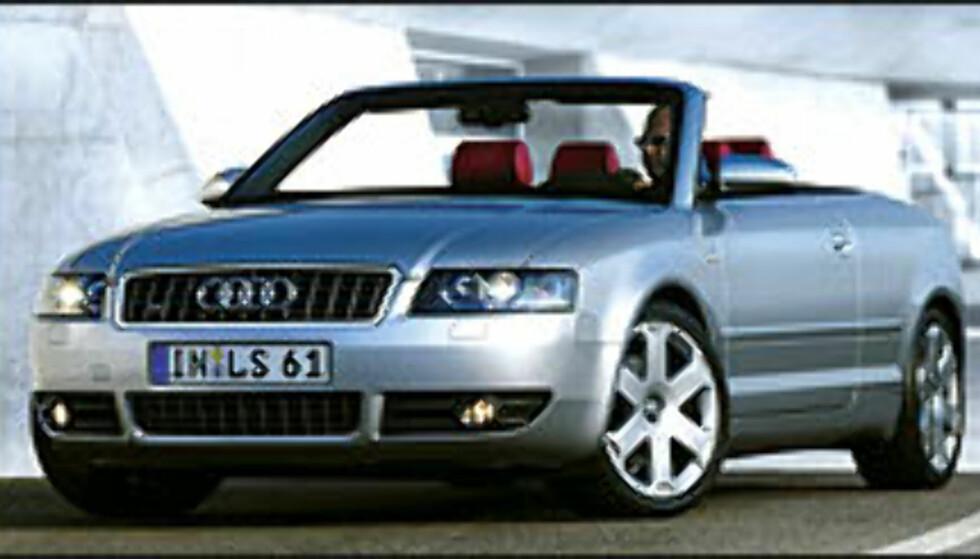 S4 Cabriolet på vei