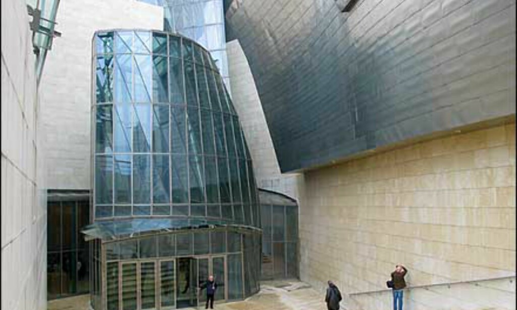 image: Titaniumblomst i Bilbao