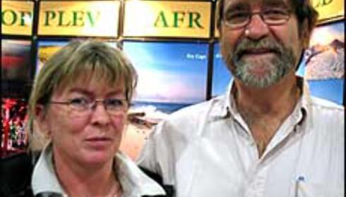 Kari og Sigurd Halvorsen i Safari Opplevelsesreiser har selv testet nostalgituren, og tror på at de får solgt dette til norske reisende.