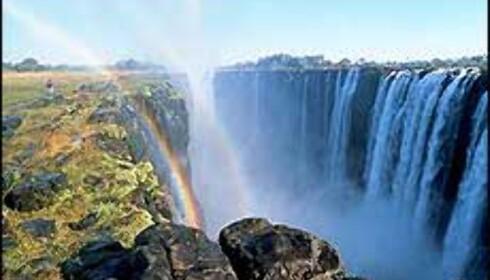 Turen avsluttes ved Victoria Falls. Foto: Rovos Foto: Rovos
