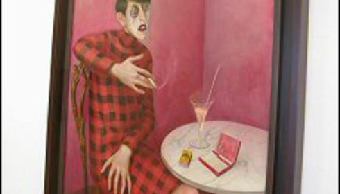 Sylvie Harden - nådeløst portrettert av Otto Dix Foto: Elisabeth Dalseg Foto: Elisabeth Dalseg