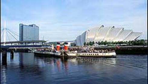 Scottish Exhibition & Conference Centre ligger ved Glasgow Science Centre ved elven Clyde, og har bidratt til å gi byen sitt fortjente rykte som arkitektursentrum. Foto: Greater Glasgow & Clyde Valley Tourist Board Foto: Greater Glasgow & Clyde Valley Tourist Board