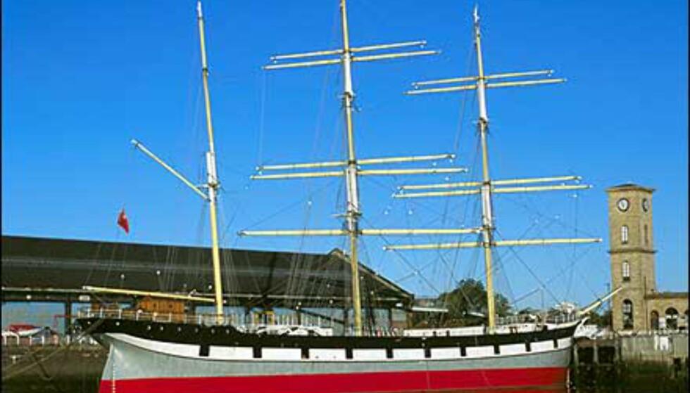 I Glasgow havn ligger denne staselige seilskuta. Foto: Greater Glasgow & Clyde Valley Tourist Board