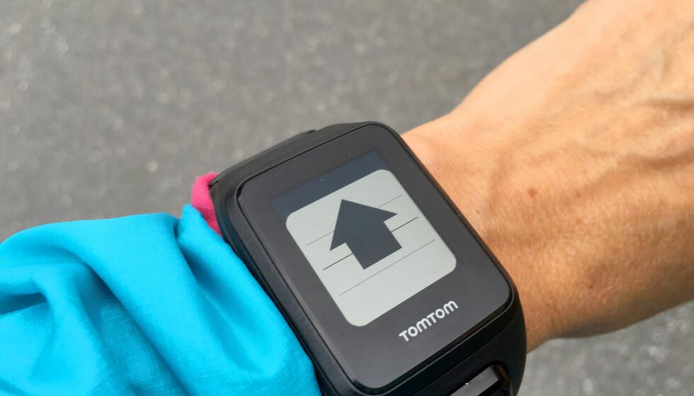 OPP MED FARTEN: Piler opp eller ned signaliserer at du må justere for å komme innenfor den målsettingen du har satt. Foto: KRISTIN SØRDAL