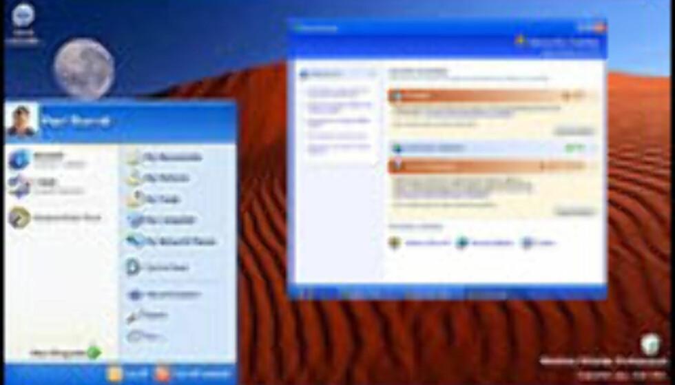 Microsoft med offisiell Service Pack 2-beta