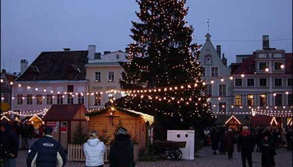 Stemning på julemarkedet. Foto: Øyvind Blankvandsbråten