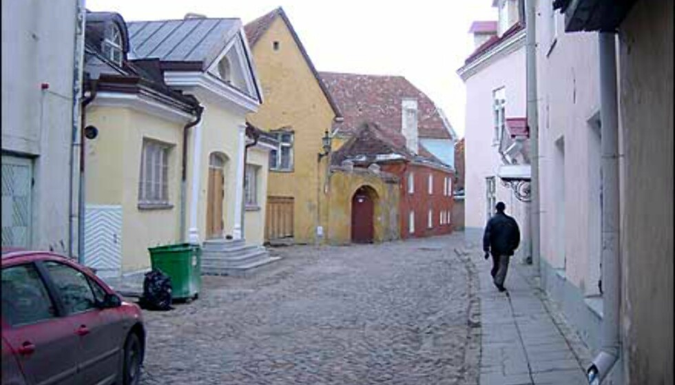 En av gatene høyt oppe i gamlebyen, bak katedralen. Her er det ikke noe å handle, ikke noe å spise, bare noe å se på. Sukkertøyhusene ser du for eksempel over hele gamlebyen. Foto: Øyvind Blankvandsbråten