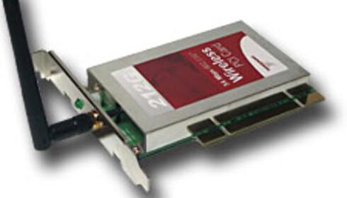 108 Mbit trådløst på testbenken