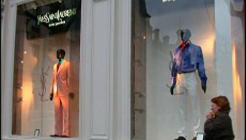 Yves Saint Laurent kalte sin første butikk opp etter beliggenheten - på Paris' Rive Gauche. Foto: Elisabeth Dalseg Foto: Elisabeth Dalseg