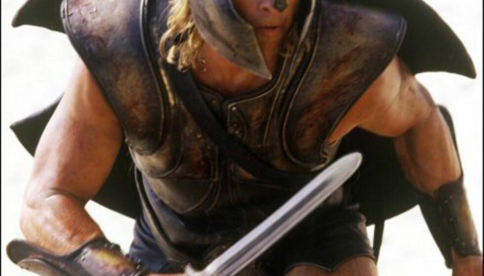 Den gang menn var menn. Filmen Troja har noe for alle. Bildet er gjengitt med tillatelse fra Warner Bros og Sandrew Metronome Foto: Bildet er gjengitt med tillatelse fra Warner Bros og Sandrew Metronome