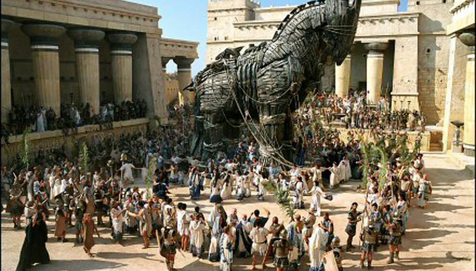 Og helt til sist... den berømte Trojanske hesten. Bildet er gjengitt med tillatelse fra Warner Bros. og Sandrew Metronome