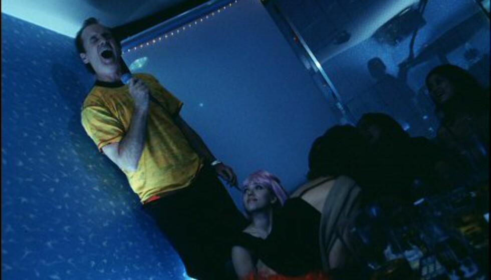 Bill Murray er lost i karokens hjemland. Bildet er gjengitt med tillatelse fra Sandrew Metronome Foto: Bildet er gjengitt med tillatelse fra Sandrew Metronome