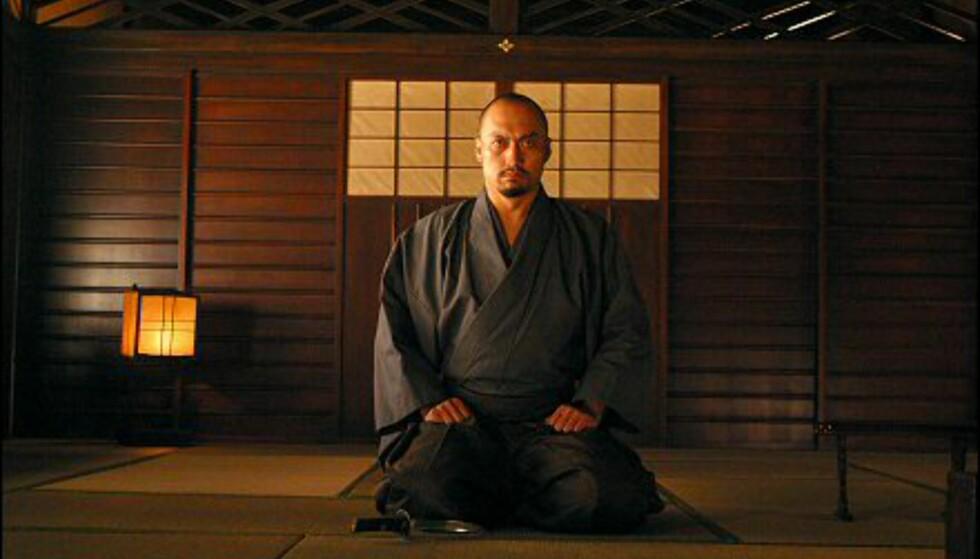 Tradisjonelt japansk med tatami-matter og vegger av tre og rispapir. Gjengitt med tillatelse fra Warner Bros.og Sandrew Metronome Foto: Warner Bros.og Sandrew Metronome